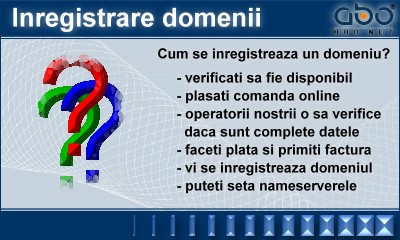 Inregistrare domeniu .INFO Hosting web site hosting romania .ro .com
