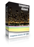 Inregistrare domeniu .NET Hosting web site hosting romania .ro .com